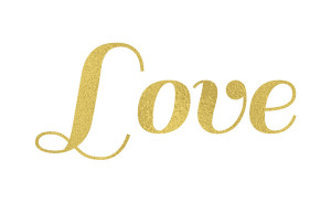 Gold Foil Texture Deviantart Gold foil text love