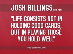 Josh-Billings-Life-Quotes