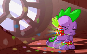 My Little Pony: Friendship is Magic -Spike-abuse is bad, and I should ...