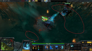 Thread: Terrorblade (Metamorphosis) can attack Roshan from outside Pit ...