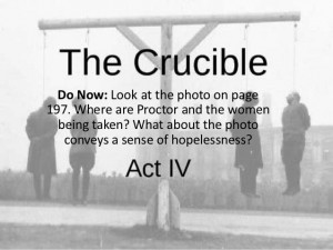 Crucible Important Quotes Act 4