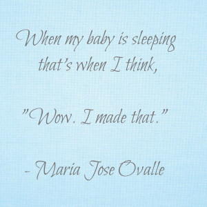 Love My Little Brothers Quotes I love to watch my baby sleep