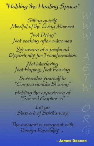 The Reiki Space Quote Consider