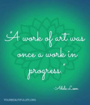 Art Quotes, Art Rel, Art N Crafts, Work Of Art, Progress Quotes, Artsy ...