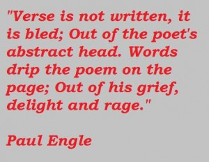 Paul engle quotes 4