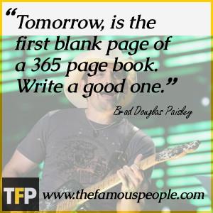 Brad Paisley Life Quotes