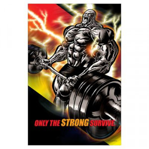 CafePress > Wall Art > Posters > CURL MONSTER Poster