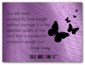 ... inspirational quotes are the answers to our weight loss questions