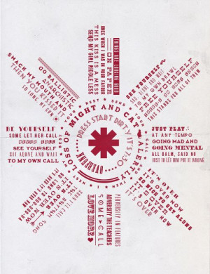 RED HOT CHILI PEPPERS LYRICS ⇢ OVER FUNK | Red Hot Chili Peppers