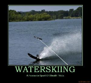 Stealth Waterskiing