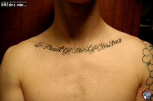 Tattoos About Family Quotes