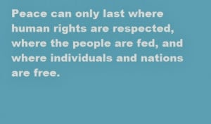 Human Rights Day 2013 Sms and Quotes sayings