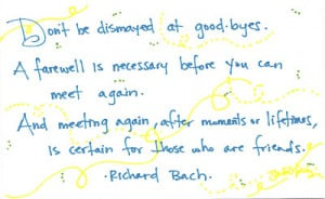FAREWELL QUOTES FRIEND LEAVING WORK image quotes at BuzzQuotes.com