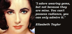 elizabeth taylor - legend quote