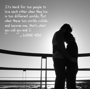Romantic Quote Couple Wallpaper For Girlfriend | Sweet Love Quote ...