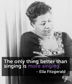 ... Ella Fitzgerald Quotes, Presidential Medal, Jazz Singer, Quotes