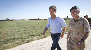 Chinese Volksbevrijdingsleger beschermt Nederlandse militairen in Mali