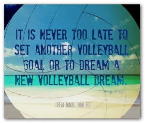 beach volleyball posters inspirational volleyball quotes volleyball ...