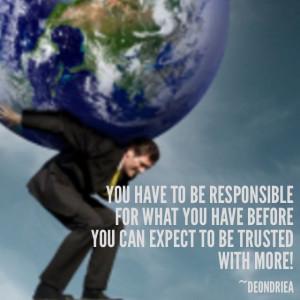 Good stewardship creates opportunities