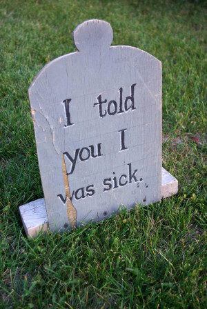 Halloween Tombstone Quotes Funny...
