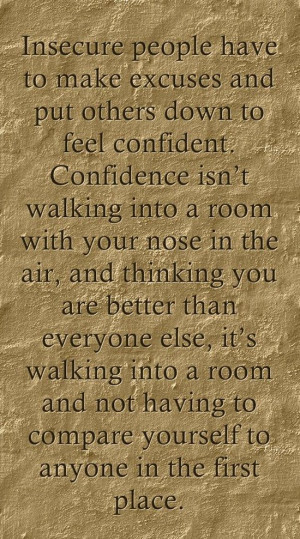 insecure people life quotes sayings pictures 150x150 jpg