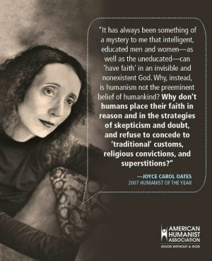 joyce carol oates Please note that I am just posting a quote by Joyce ...