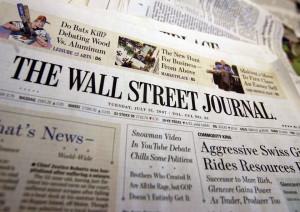 ... meilleures ventes numériques, maintenant dans le Wall Street Journal