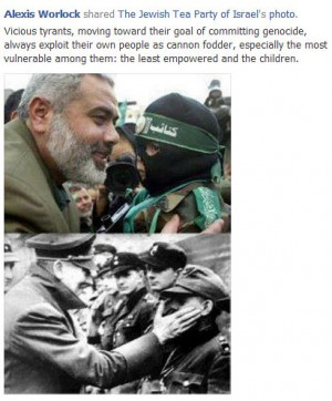 HAMAS LEADER ISMAIL HANIYEH AND NAZI ADOLF HITLER: NOTICE ANY ...