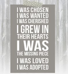 Go Back > Pix For > Cute Adoption Sayings