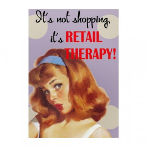 Retail Therapy The Bag