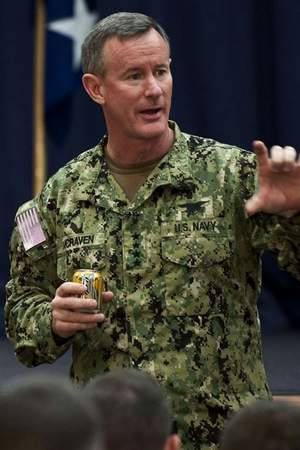 Adm. William McRaven, commander of U.S. Special Operations Command ...