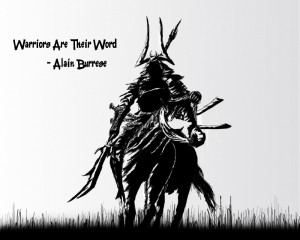 Home Warrior Wisdom Warriors Are Their Word Warriors are their Word