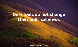 Sarcastic Political Quotes