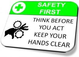 safety first - safety slogan