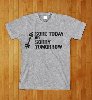 Cool T Shirts Sayings Workout fitness t shirt