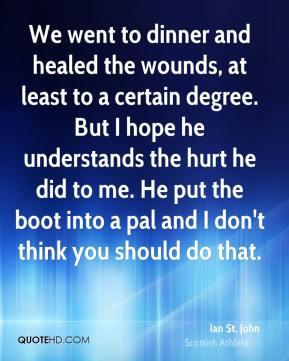 More Ian St. John Quotes