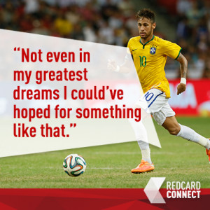 Of course, Neymar himself was ecstatic about his four-goal salvo as he ...