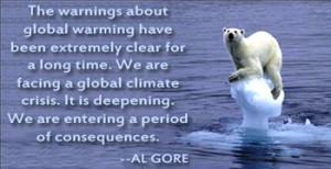 ... climate change, and Global Warming. Let's have a look over dire signs