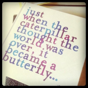 Get well quotes, best, inspiring, sayings, butterfly