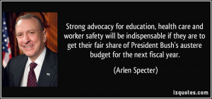 Strong advocacy for education, health care and worker safety will be ...