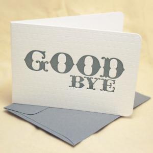 Top Ten Good Bye Quotes