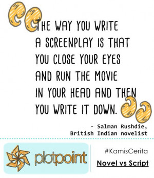 Quote from Salman Rushdie