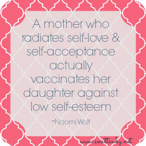 Self esteem for our daughters