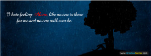 Hate Alone Quotes Facebook Timeline Cover