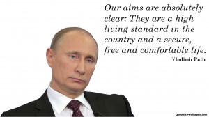 Vladimir Putin Aim Quotes Images, Pictures, Photos, HD Wallpapers