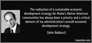 sustainable economic development strategy for Maine's Native American ...