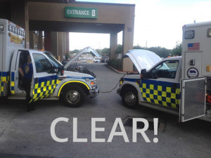 Even Paramedics need help sometimes…