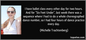 Michelle Trachtenberg 39 s quote 7