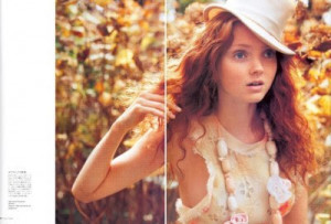 lily cole - because i'm in love with Gingers :D