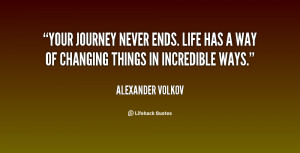 Lifes Journey Quotes